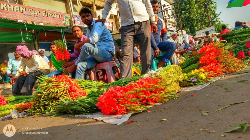UP32 Photowalk : Phool Market, Lucknow