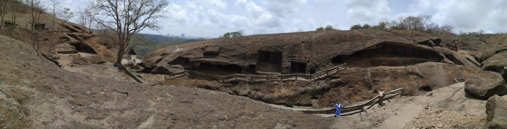 The Kanheri Caves in SG National Park